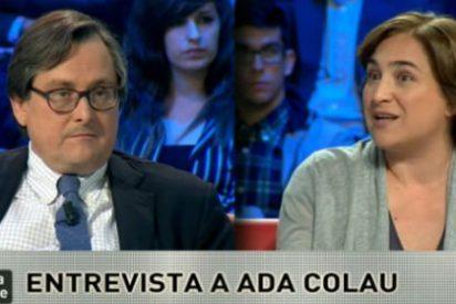 """Marhuenda contra el populismo de Colau: """"Con usted en el poder los inversores se fugarán de Barcelona"""""""