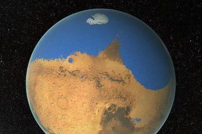En Marte hay glaciares que si se derritieran cubrirían con un metro de agua todo el planeta