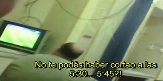 El vídeo del doctor que no atiende a un paciente porque está viendo el PSG-Barça
