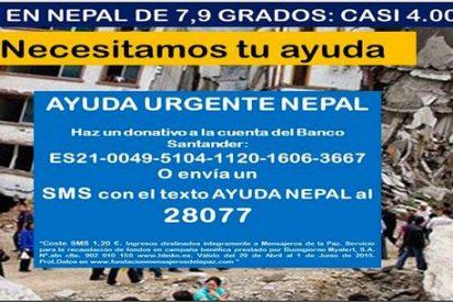 Mensajeros de la Paz pide ayuda para Nepal