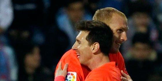 Casanovas lo tiene claro: los dos últimos goles de Mathieu empiezan a amortizar su controvertido fichaje