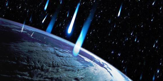 Una impresionante doble lluvia de meteoritos explosivos está al caer