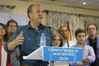 """Monago: """"El mejor producto que tiene Extremadura es su gente, los extremeños"""""""