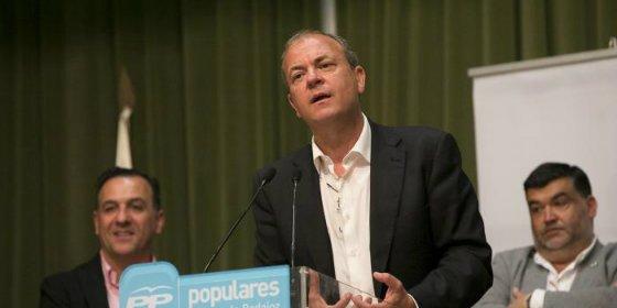 """Monago: """"La capital de Extremadura tiene que estar en el lugar que se merece, al lado del presidente"""""""