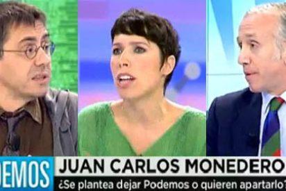"""Inda da la cara por Marta Nebot tras ser intimidada por Monedero: """"Eres un jeta y un faltón"""""""