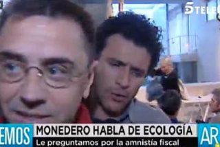 """El sarcasmo de Ana Rosa con su reportero: """"¿Cómo se te ocurre preguntar a Monedero por algo que no sea medio ambiente?"""""""