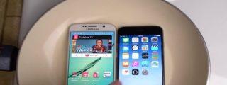 [Vídeo] ¿Quieres ver qué pasa si metes un Galaxy S6 y el iPhone 6 en agua hirviendo?
