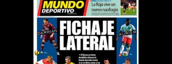 Pedrerol deja tiritando la portada de 'Mundo Deportivo':