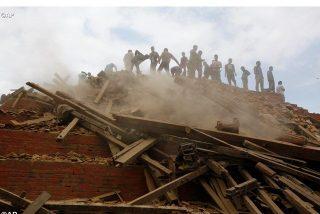 El Papa reza por las víctimas del terremoto en Nepal