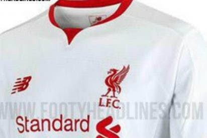 Así es la novedosa segunda equipación del Liverpool