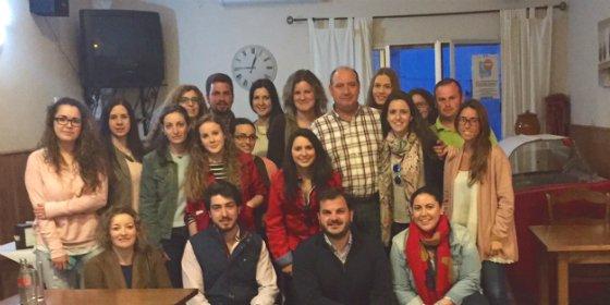 NNGG de Badajoz inicia en Calera de León encuentros para involucrar a los jóvenes en el proceso electoral
