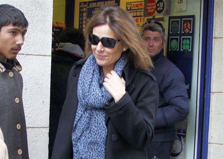 Nuria González, de vuelta en Madrid tras las vacaciones