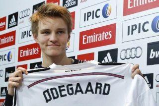 Odegaard se declara en rebeldía y se niega a entrenar con el Real Madrid Castilla