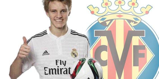 Vuelven a colocar a Odegaard en el Villarreal