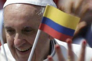 """El Papa anuncia su deseo de """"encontrarse pronto"""" con los colombianos"""