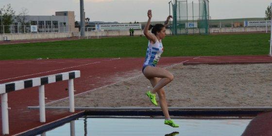 Paloma Gallardo consigue la mínima en los 2000m obstáculos en la segunda jornada Judex