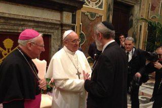 """Francisco, a los rabinos europeos: """"Los cristianos deben ser firmes en la condena de toda forma de antisemitismo"""""""