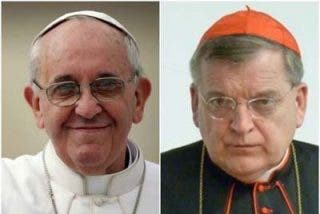 """El cardenal Burke denuncia que la """"agenda gay"""" se abre paso en el Vaticano"""