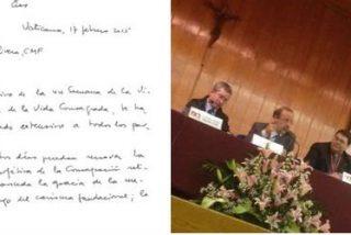 """Francisco, a los religiosos españoles: """"Renueven la dimensión eclesial y profética de la consagración religiosa"""""""