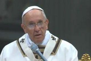 """Francisco pide a los cristianos """"no cerrar los ojos frente a los problemas, no negarlos, no eliminar los interrogantes"""""""