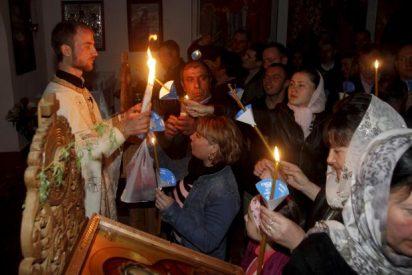 """Pascua en Atenas: """"Xristos anesti"""""""