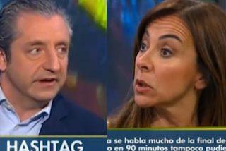 """Pedrerol deja muda a Carme Barceló por el caso Neymar: """"El que va a ayudar a la transparencia es el juez Ruz, no Bartomeu"""""""