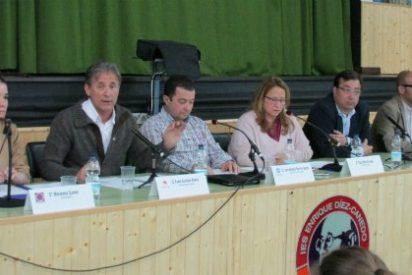 Pedro Escobar defiende la necesidad de las ideología y de la izquierda en Puebla de la Calzada