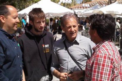 Pedro Escobar apoya a los candidatos de IU de la comarca de Brozas y el Tajo Internacional