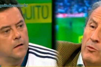 """Roncero, contra Petón: """"Parece que te fastidia que los demás seamos felices; dile a Simeone que hubiera sabido jugar al fútbol"""""""