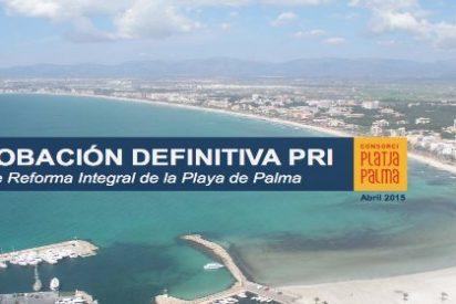 Todo sea por lavarse la cara: 469 millones para la Playa de Palma... y más 'estrellas'
