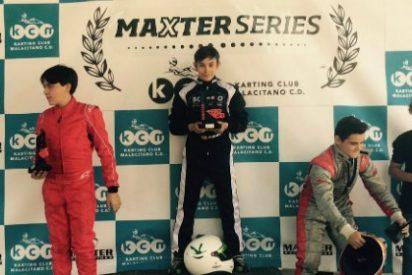 Miguel Grande debuta con victoria en la Maxter Series Ibérica en el Kartódromo de Kartaya