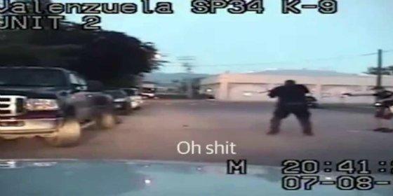La grabación de los policías que matan a tiros a una embarazada que estaba borracha