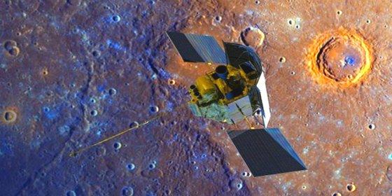 Las insólitas fotos tomadas por una sonda de la NASA antes de estrellarse contra Mercurio
