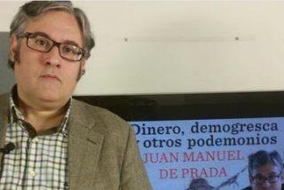 """Juan Manuel de Prada: """"Hoy en día podrían hacer en televisión un coloquio sobre Homero en el que opinara Belén Esteban"""""""