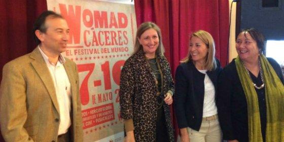 Cáceres acogerá su vigésimo cuarta edición del Festival Womad