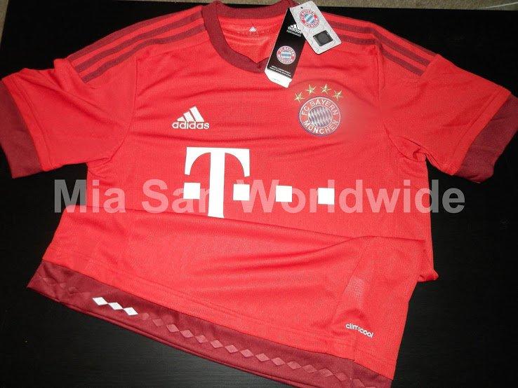 Sale a la luz la nueva camiseta del Bayern