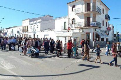 Ribera del Fresno celebra su Semana Santa: viernes Santo su tradicional Via Crucis