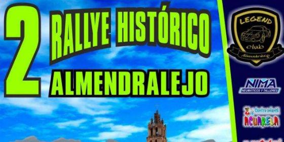 Comienza el II Rallye Histórico de Almendralejo