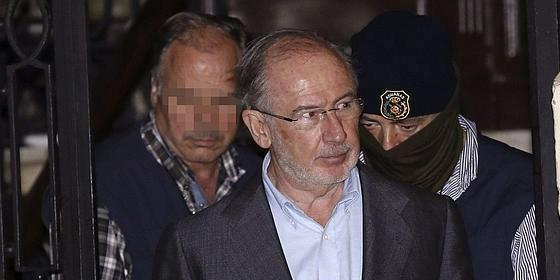 """¿Solo fue un mal rato? Rodrigo Rato duerme en casa como un angelito """"confiado en la Justicia"""""""