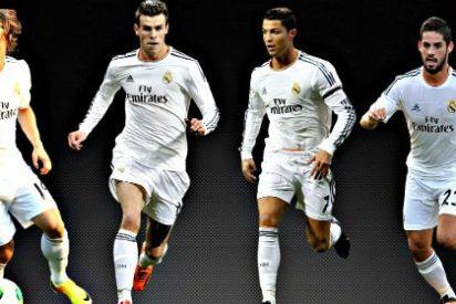 El 'sudoku' de Ancelotti: James, Modric, Kroos, Isco, Bale, Benzema y Cristiano para las seis plazas de media y delantera