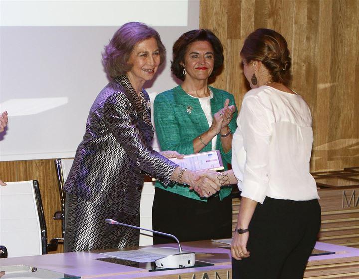 La Reina Doña Sofía cumple con la entrega de los Premios Nostra de Patrimonio Cultural