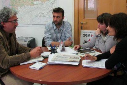 IU Extremadura se reúne con la Coordinadora de ONGD de Extremadura