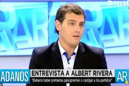 """Albert Rivera: """"No son tiempos de Paco Martínez Soria, pero ellos tienen a Floriano; cada uno se asesora con quien puede"""""""