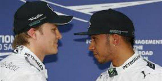 Primera 'movida' de la temporada entre Rosberg y Hamilton