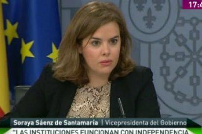 """Sáenz de Santamaría, sobre Rato: """"Estamos ante un asunto particular"""""""