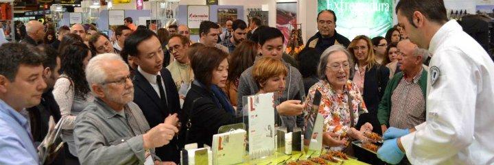 Extremadura se presenta en el Salón del Gourmets como referente nacional del Turismo Gastronómico
