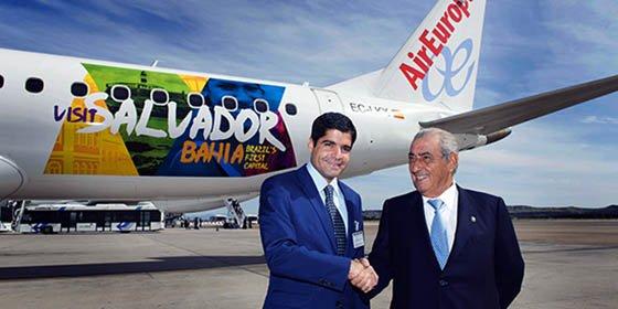 Air Europa y Salvador de Bahía se alían para promocionar la ciudad brasileña