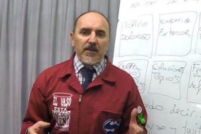 [VÍDEO] Sánchez Salinero ofrece las claves para convertirse con éxito en un tertuliano de Podemos