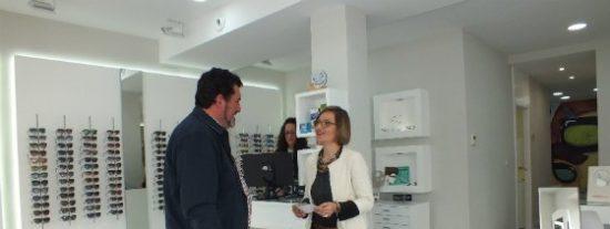 Adevag apoya con 66.000 € la apertura de un centro óptico en Villanueva de la Serena