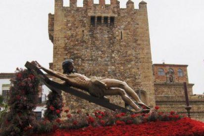 Procesión Viernes Santo 2015 en Cáceres